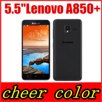 In Stock Original Lenovo A850 A850+ phone MT6592 octa Core Phone 5.5 inch Android 4.2 GPS WCDMA 3G Smart Phone Russian support