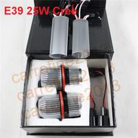 car light source 25W Cree LED Marker for BMW E39 E60 E61 E87 E63 E64 E65 E66 E53 LED Angel Eyes for BMW 5 6 7 series X3 X5