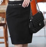2014 New Korean Version Of the Suit Career Short Skirts Rendering Package Hip Skirt   B516