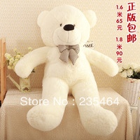 High quality Low price Plush toys large size 1.4m / teddy bear 1.4m/big embrace bear doll /lovers/christmas gifts birthday gift