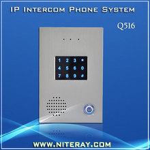 Seguridad puerta SIP teléfono asterisco compatibles(China (Mainland))