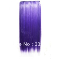 5 color Straight clip in hair extensions hairpiece hair pieces accessories color 110g Super beautiful-3