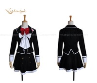 Kisstyle Fashion Anime Diabolik Lovers Actress Komori Yui Cloth Uniform Cosplay Costume