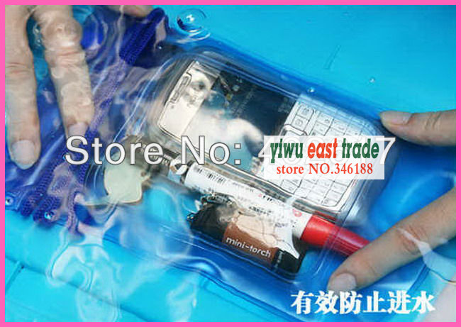free fedex.wholesale 2013 newest Camera Waterproof Pouch waterproof cellphone bag waterproof mobile pouch for MP3,MP4 free shipp(China (Mainland))