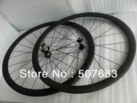 cheap bike wheel 38mm clincher full carbon complete wheelset 700c aero spoke clincher wheels 38mm depth racing bike clincher rim