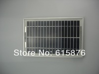 DIY 18V 280mA 5.0 watt 290mm x 190mm x 15mm  small solar panel for 12v battery charger