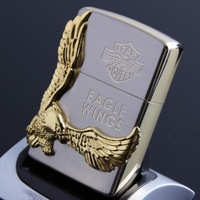 Best selling high quality gold eagle metal flameless cigarette lighter usb electronic lighter free shipping