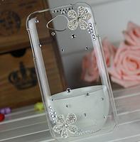 2015 Crystal rhinestones Silver Flower Cover diamond case For Lenovo A706 s90 p70 S650 S720 S820 s860 S890 S920 a760 A328 A850