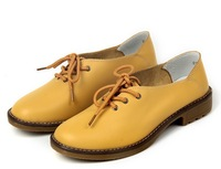 Women genuine leather shoes flats High quality new women casual soft Sole fashion shoes wholesale 5 colors big size34-42