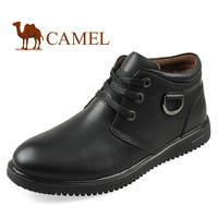 men's winter boots, men's  leather high-top shoes, tide shoes, men  Martin boots, Big Size 45,46,47
