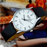 Blue Bai Stationery--Hot sale New style South Korea fashion waterproof Roman scale couple watch 292
