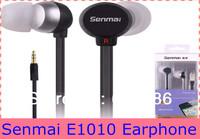 Quality Earphone E1010 In-ear Earphones Headphones For MP3/4,Phone,Computer Free Shipping