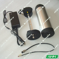 36V  10Ah Water Bottle Electric Bicycle Battery  Made of High Quality  Samsung Cell ICR18650-26F With free Charger