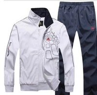 2013 Sport suit women jackets lovers casual sportswear coat + pants men's sports set jacket clothing sets
