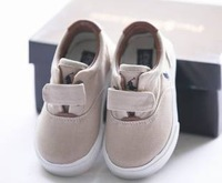 Polo children shoes velcro canvas shoes toddler shoes