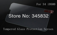 0.26mm Premium Tempered Glass Screen Protector Protective Film For Samsung GalaxyS4 SIV I9500 With Retail Package MOQ:10pcs G010
