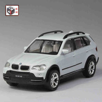 Brand New 1/32 Color Pearl X5 Alloy Pull Back Car Model 4colors 14cm Length with the Base good Collection Children Toy