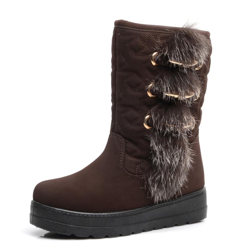 Cheap Women's Furry Snow Boots | Homewood Mountain Ski Resort