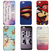 10pcs/lot Best quality deluxe hard case For iphone 6 plus brand logo design print embossed matte case for iphone 6+ luxury cover
