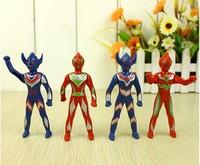 4PCS/set 9.5cm Ottoman super heroes model  commodity toy for boys  classic boy doll toys superhero