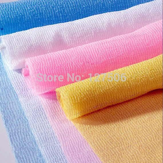 Free shipping Slitless foam bath towel bathwater magic bathwater soft bath towel Bath Brushes Sponges Scrubbers Healthy Bath(China (Mainland))