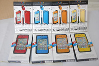12 items life Water proof Shock Proof Dirt proof silicon case for iPhone 4 4S 5 5S