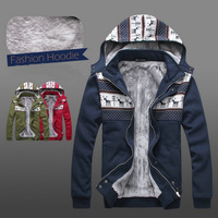 New Winter Jackets For Men's Fashion Deer Plus Warm Cashmere Outdoor Jacket Coats Wholesale&Retail Fast Shipping B0130