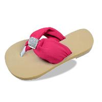 Bohemia flip flops beach slipper flat heel casual female drag slip-resistant shoes