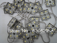 LED Module for LED signs and channel letter, Single Color 4 LED SMD 5050, Iron case Waterproof, DC12V, Free shipping 500pcs/lot