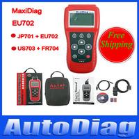 Autel Maxidiag EU702 Code Reader  Free Shipping