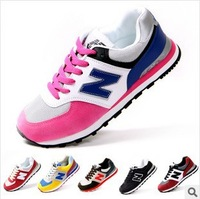 Free shipping 2014 new  Spring Autumn arrivals  Men women running shoes lover shoes sneakers casual shoes