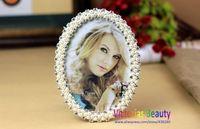 Victorias pearl rhinestone photo frame, European style, fancy frame, wedding gifts , Free shipping