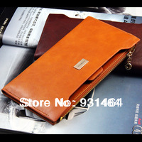 Brand design  long style woman wallet zipper+hasp purse fashion lady card holder clutch bags handbag bolsas free shipping