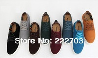 shoes for men big size nubuck genuine leather Cheap Mens Fashion Casual Sneakers  new 2014 brand shoe wholesale chaussures