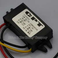 2pcs/lot 12V DC to 5V DC Converter Buck Module 3A 15W DC Step-Down Module Car LED Power Supply Module
