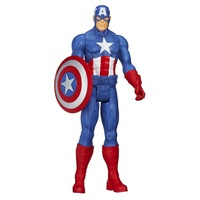 Brand New In Box Marvel Avengers Assemble Titan Hero Series Captain America Doll 30cm