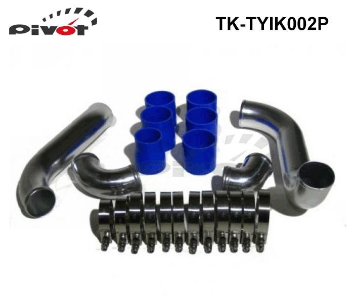 MR2 stainless steel or aluminium made turbo Intercooler piping kits for TOYOTA TK-TYIK002P(China (Mainland))