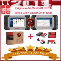 New 2014 Autel MaxiDAS DS708 Automotive System Tools Electric obd2 Auto Diagnostic Tool
