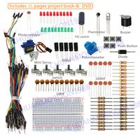 SunFounder Lab Sidekick Basic Starter Kit For Arduino UNO R3 Mega2560 Mega328