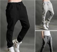 Brand Fashion Spring Summer Casual Jogger Dance Long Baggy Harem Pants Men Sportwears