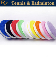 Free Shipping-2 reels/lot -Absorbent pro towel badminton racket grip,overgrip available in 9  colors