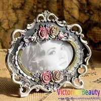 Victorias European fashion royal black-rimmed photo frame, royal classic style  , free shipping