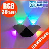 4W LED Wall Lamp RGB Novelty light christmas lights led lamps AC110-240V KTV lighting decorative lamp Christmas lamp
