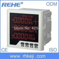 three phase multi-function monitoring instrument   Measuring instrument led