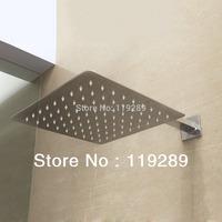 Free Shipping 20cm*20cm stainless steel Rain Shower.Ultra Thin Rain Shower Head&Chuveiro Ducha With 42cm Arm.Accessorie Banheiro