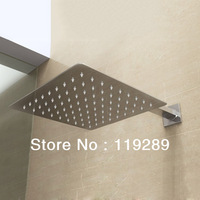 Free Shipping 20cm*20cm stainless steel Rain Shower.Ultra Thin Rain Shower Head&Chuveiro Ducha With 42cm Arm.Accessorie Banheiro