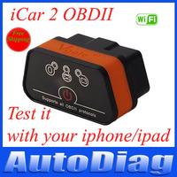 Original!Vgate Icar2 WIFI OBD Scanner Icar 2 Elm327 Diagnostic Interface Icar 2 OBD2 Solution For Cars Support For IOS