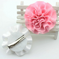 8cm carnation flowers artificial flowers hairpin hairpin cloth headdress wholesale foreign trade