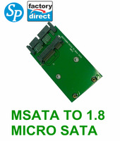 wholesale  new mini sata msata to micro sata Converter Adapter  7.2*3.8cm hard drive converter SPCA026 free shipping china post