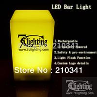 20units Free Logo Printing LED Bar Light 70x135x75mm,Rechargeable Nightclub Desk Lamp